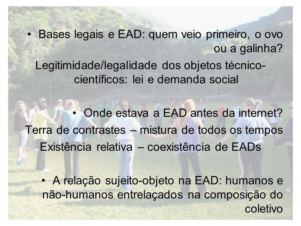 Existência relativa – coexistência de EADs