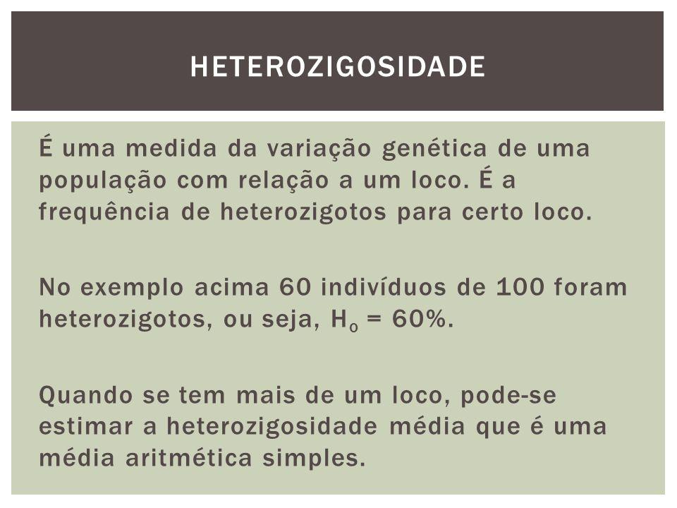 heterozigosidade