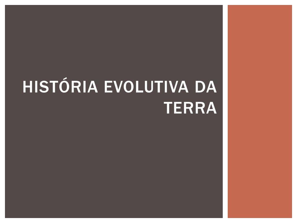 História evolutiva da terra