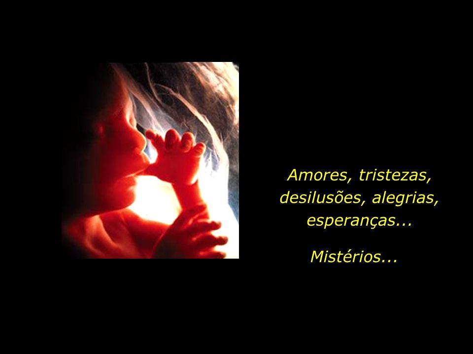 Amores, tristezas, desilusões, alegrias, esperanças...
