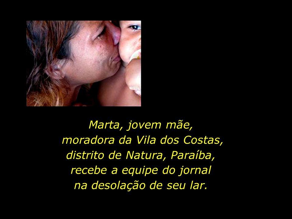 moradora da Vila dos Costas, distrito de Natura, Paraíba,