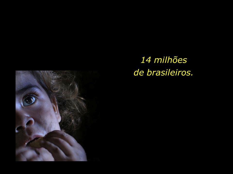 14 milhões de brasileiros.