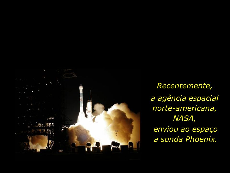 a agência espacial norte-americana, NASA,