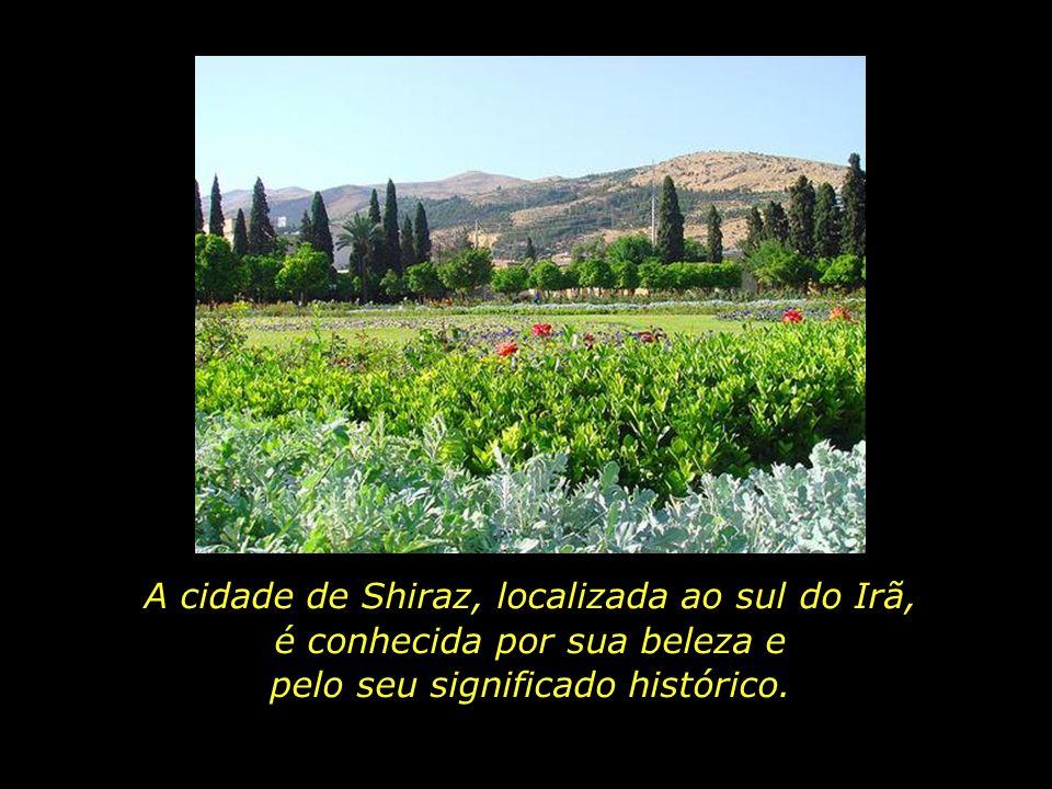 A cidade de Shiraz, localizada ao sul do Irã,