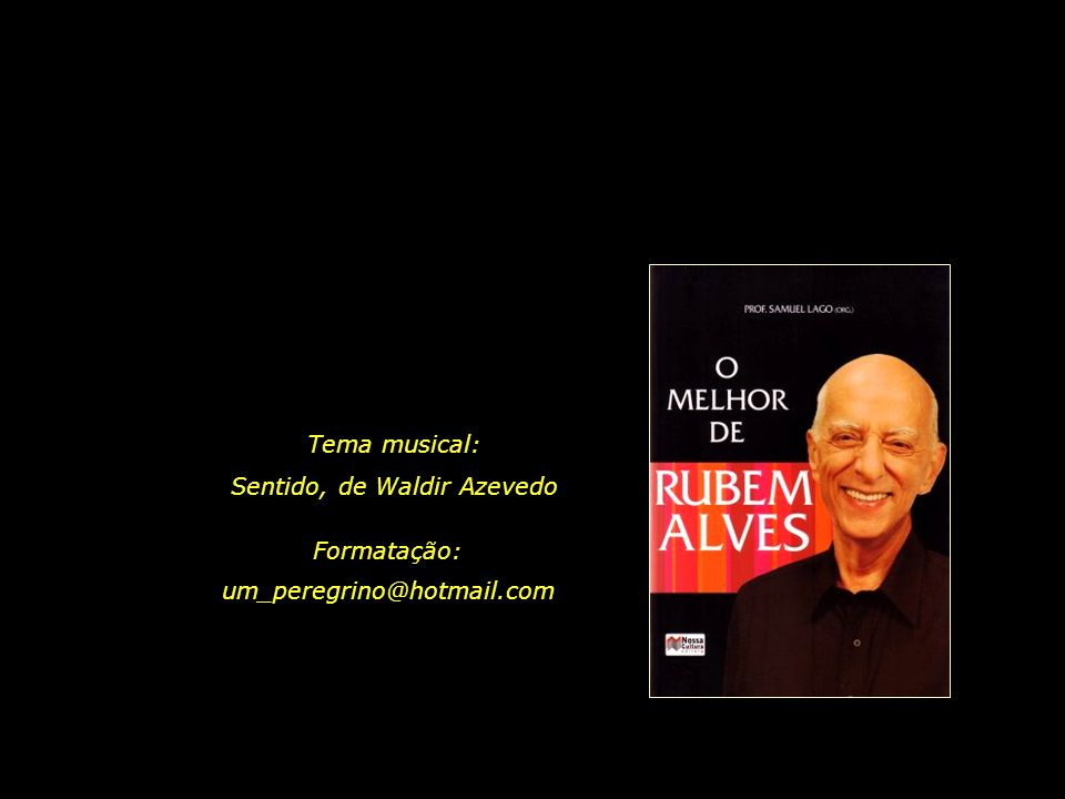 Sentido, de Waldir Azevedo