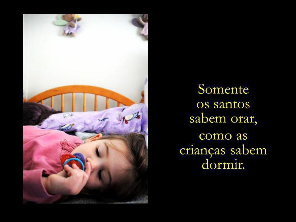 como as crianças sabem dormir.