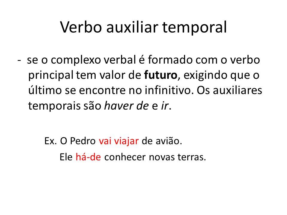 Verbo auxiliar temporal