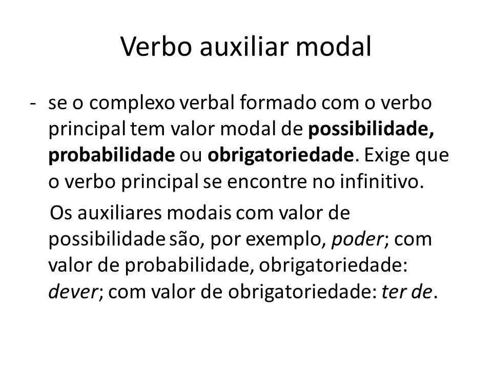Verbo auxiliar modal