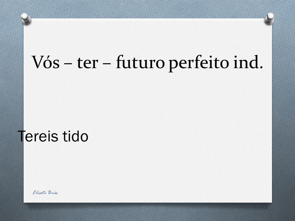 Vós – ter – futuro perfeito ind.