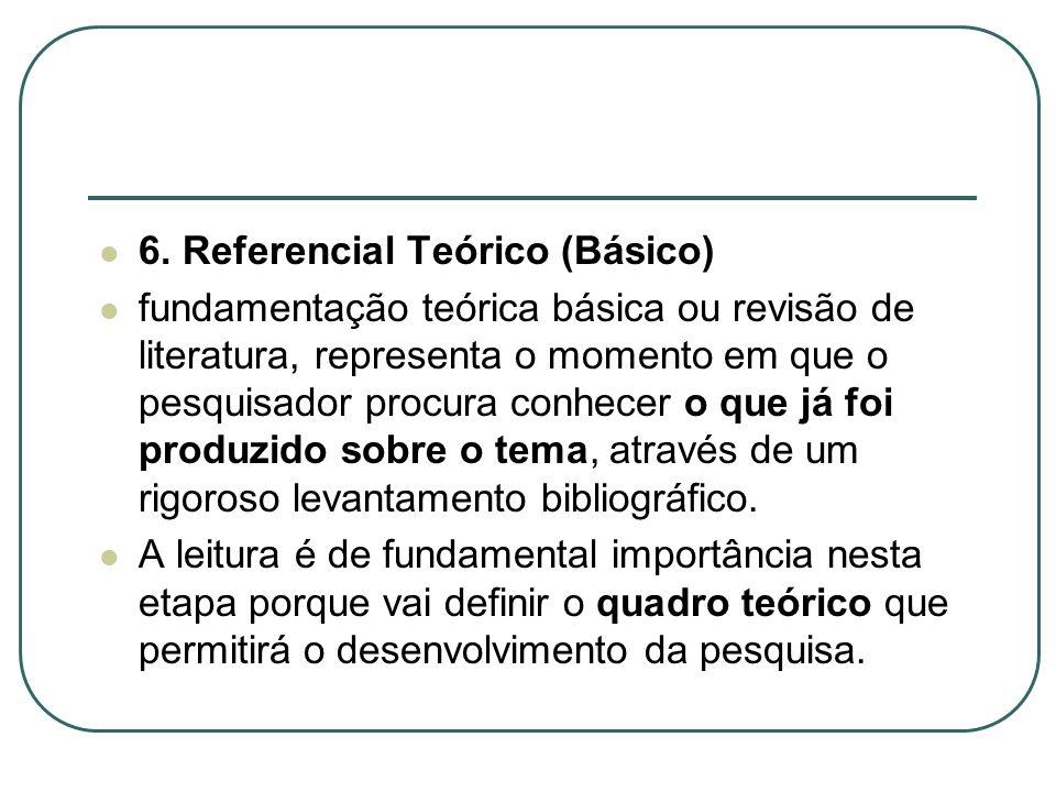 6. Referencial Teórico (Básico)