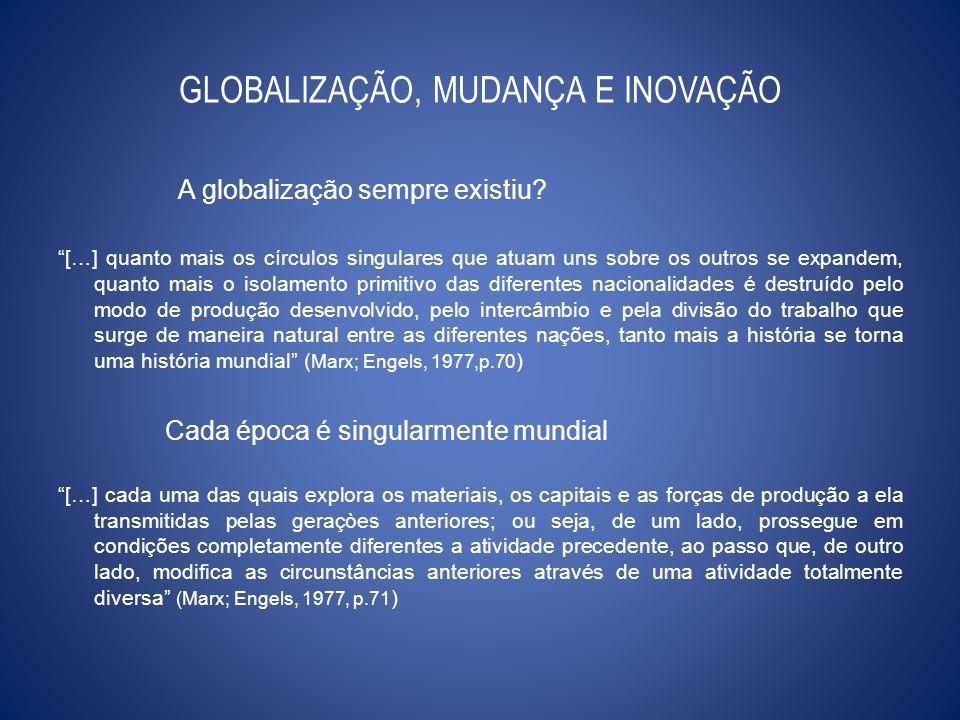 GLOBALIZAÇÃO, MUDANÇA E INOVAÇÃO