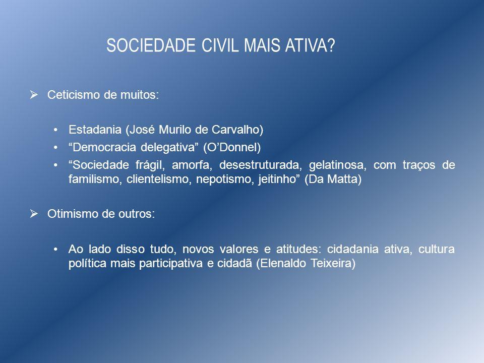 SOCIEDADE CIVIL MAIS ATIVA