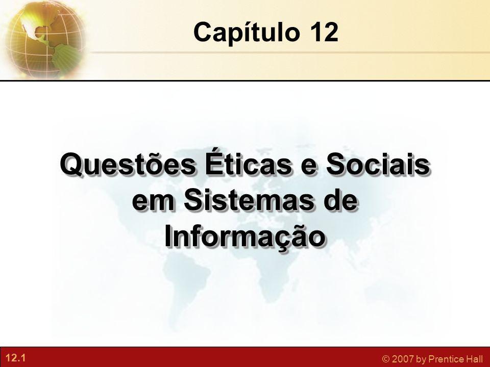 Questões Éticas e Sociais em Sistemas de Informação