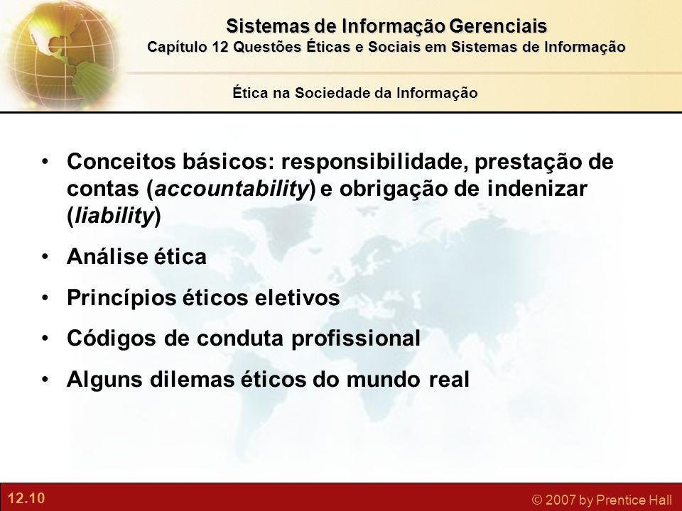Ética na Sociedade da Informação