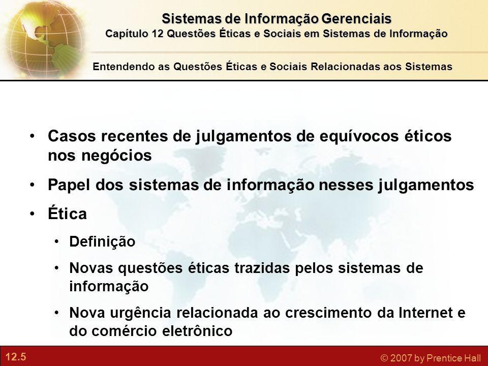 Entendendo as Questões Éticas e Sociais Relacionadas aos Sistemas