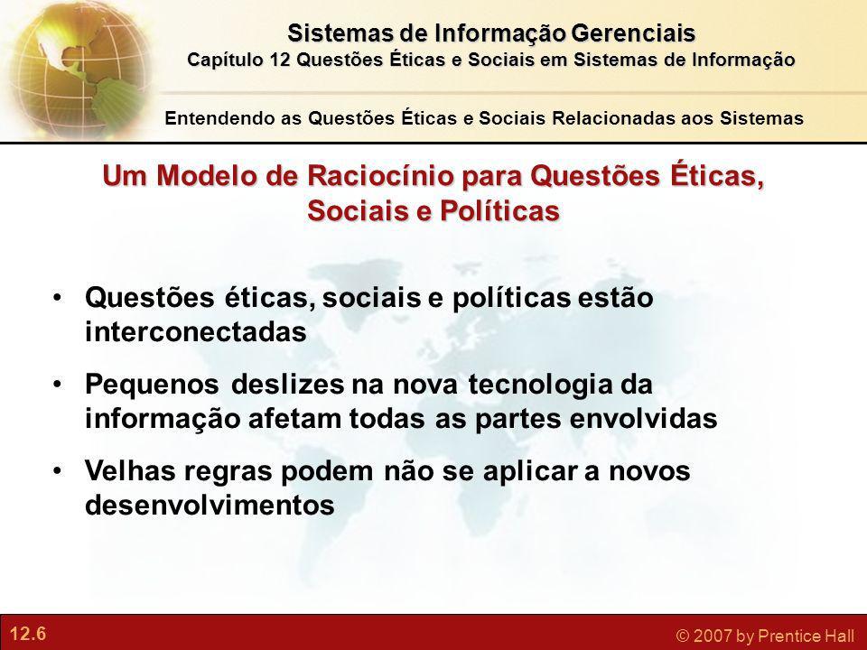 Um Modelo de Raciocínio para Questões Éticas, Sociais e Políticas