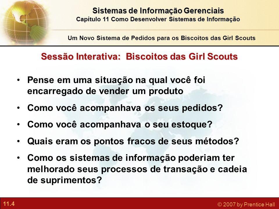 Sessão Interativa: Biscoitos das Girl Scouts