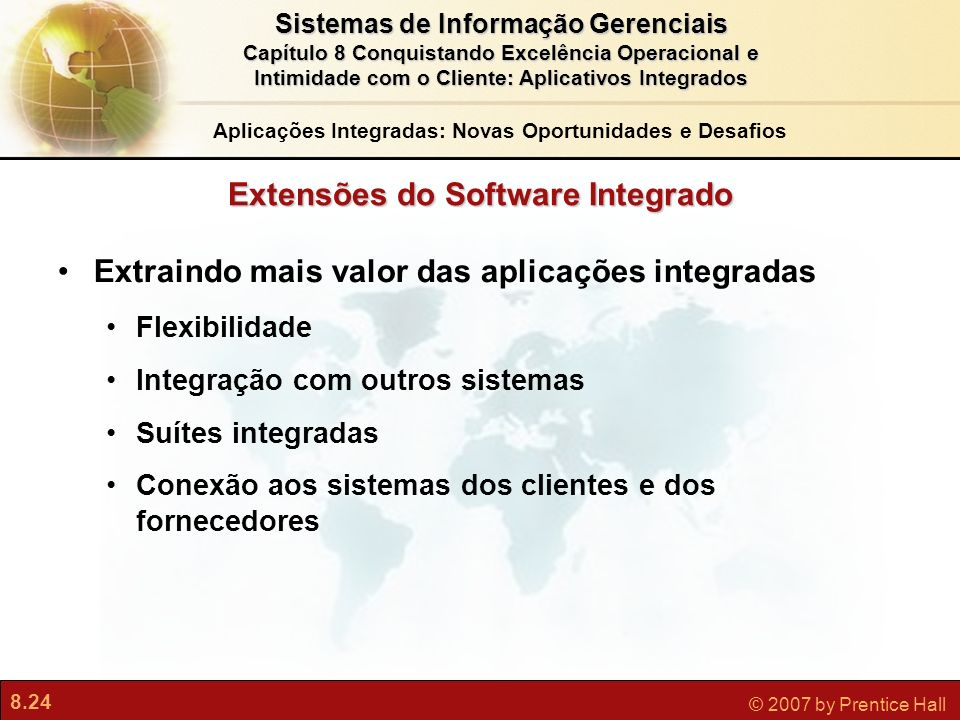 Extensões do Software Integrado