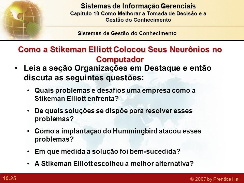 Como a Stikeman Elliott Colocou Seus Neurônios no Computador