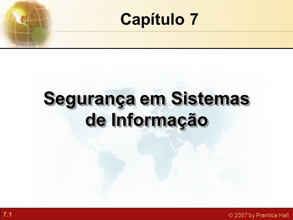 Segurança em Sistemas de Informação