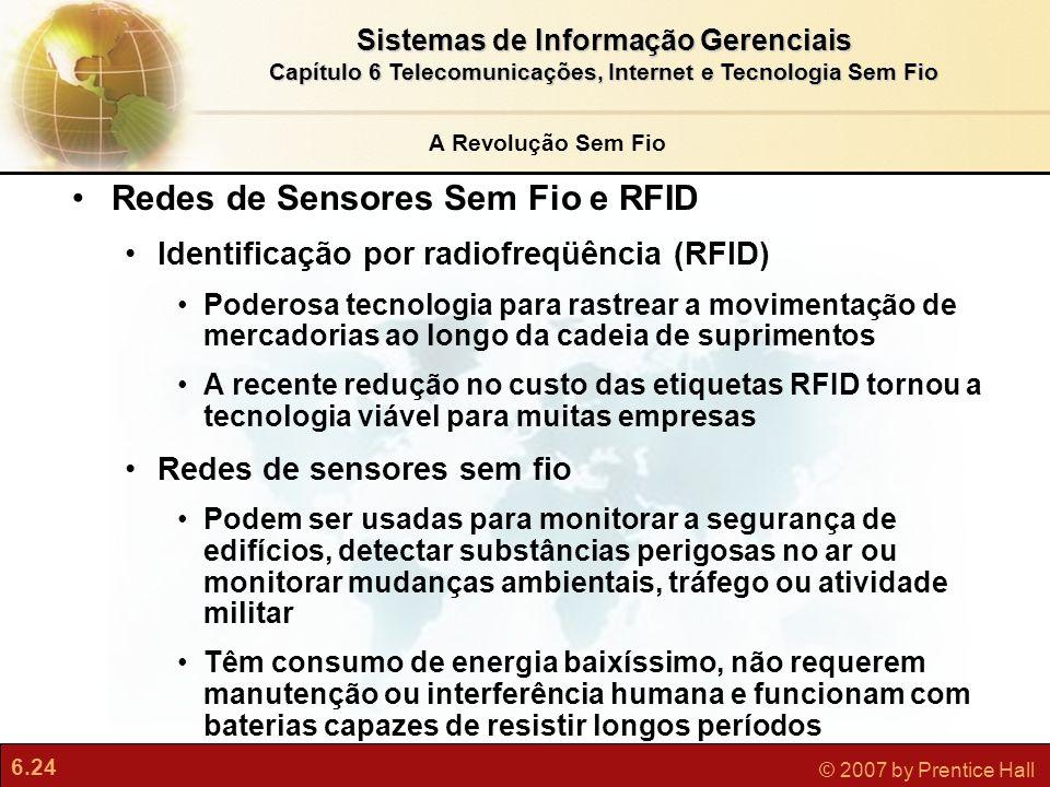 Redes de Sensores Sem Fio e RFID