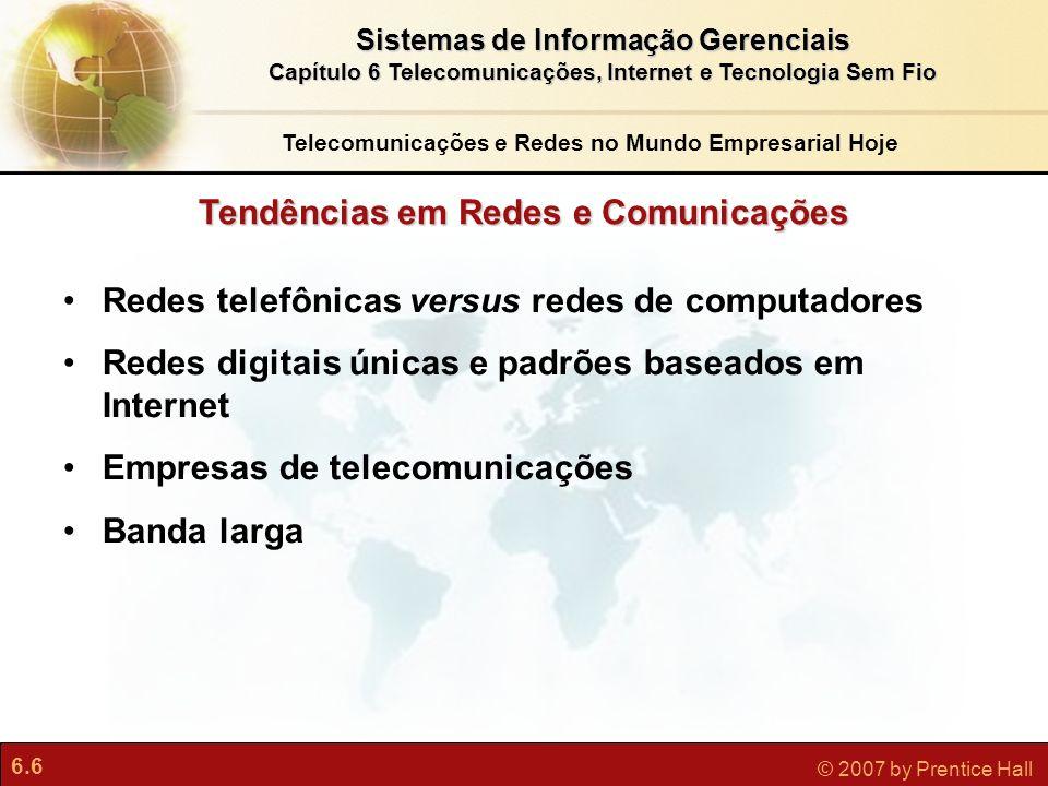 Tendências em Redes e Comunicações
