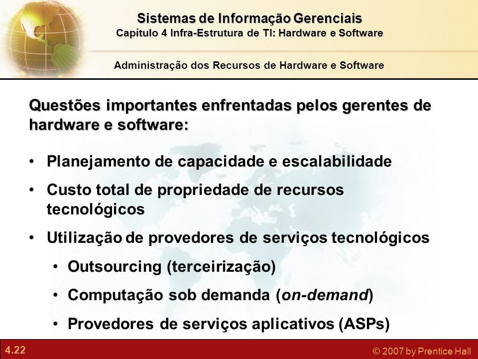 Administração dos Recursos de Hardware e Software