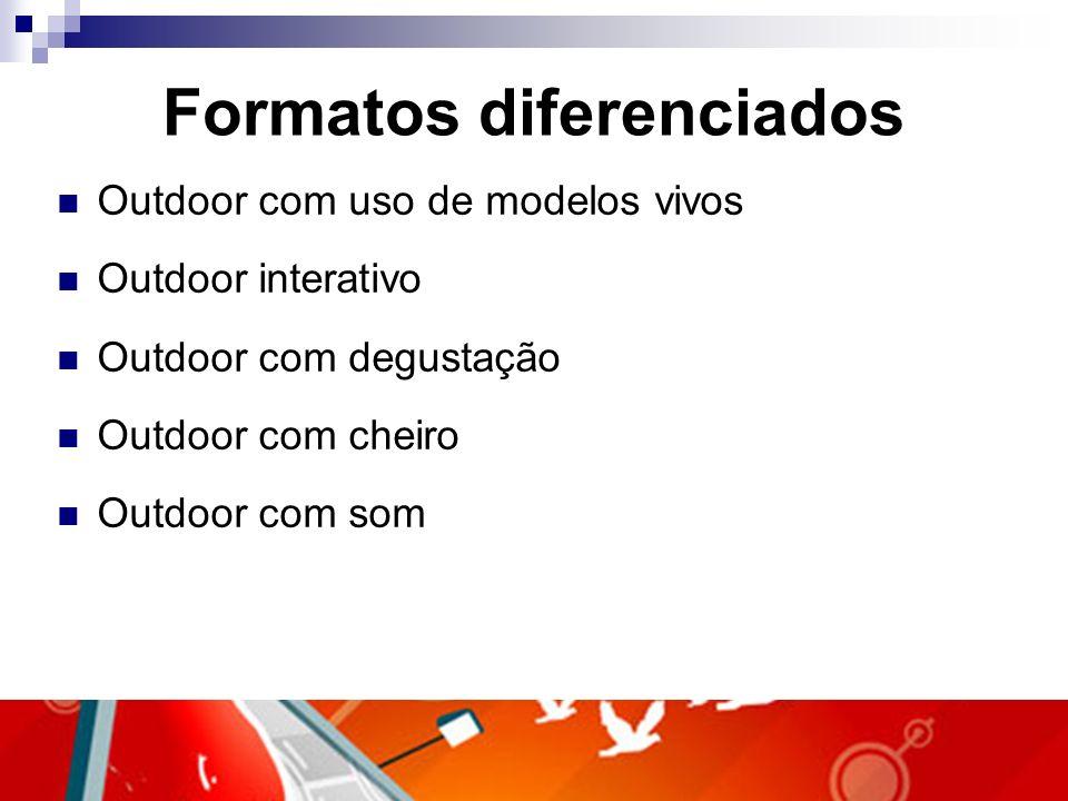 Formatos diferenciados