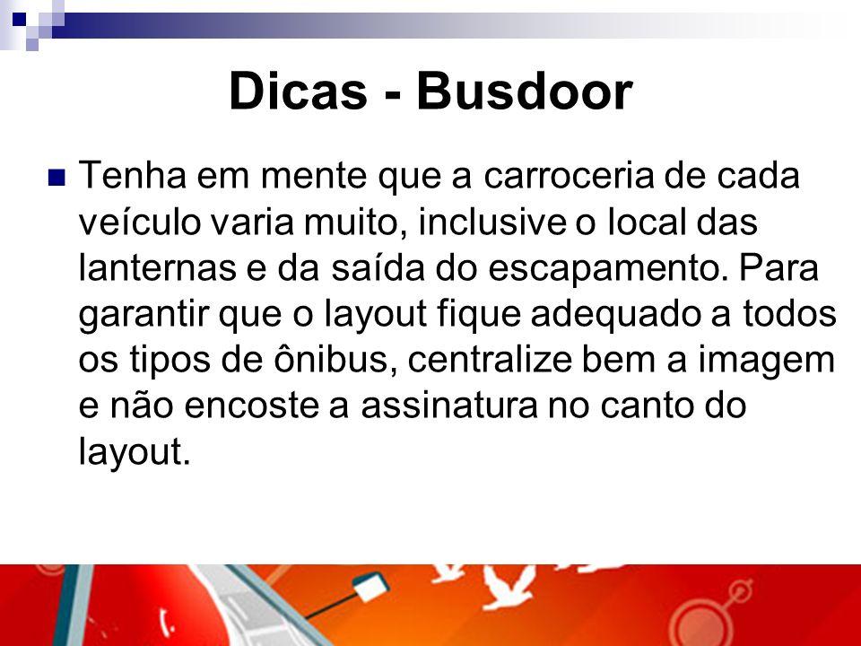 Dicas - Busdoor