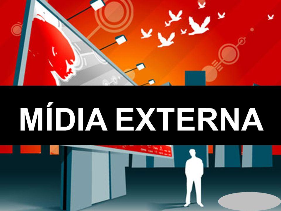 televisão MÍDIA EXTERNA