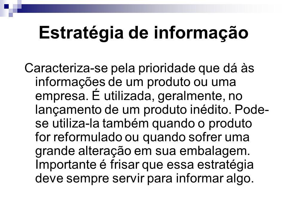 Estratégia de informação