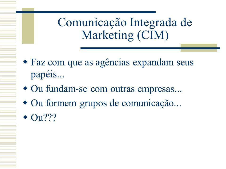 Comunicação Integrada de Marketing (CIM)