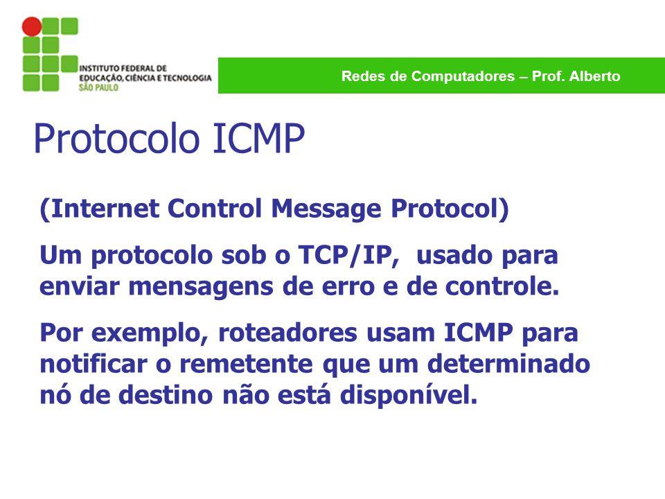 Protocolo ICMP (Internet Control Message Protocol)