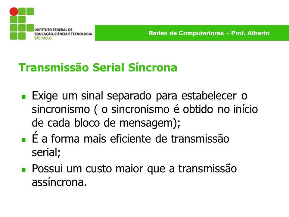 Transmissão Serial Síncrona