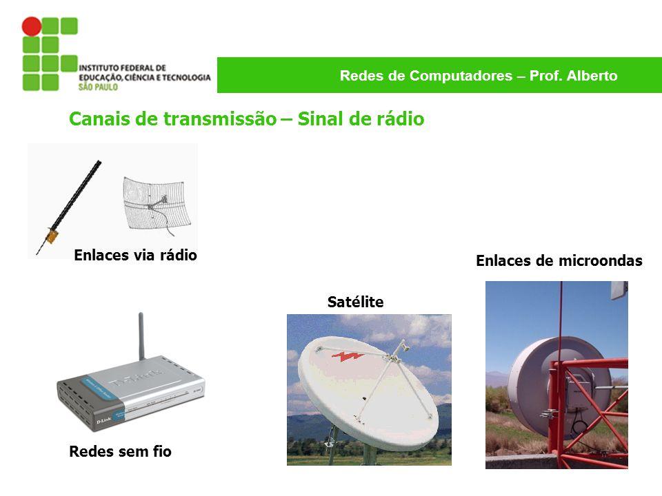 Canais de transmissão – Sinal de rádio