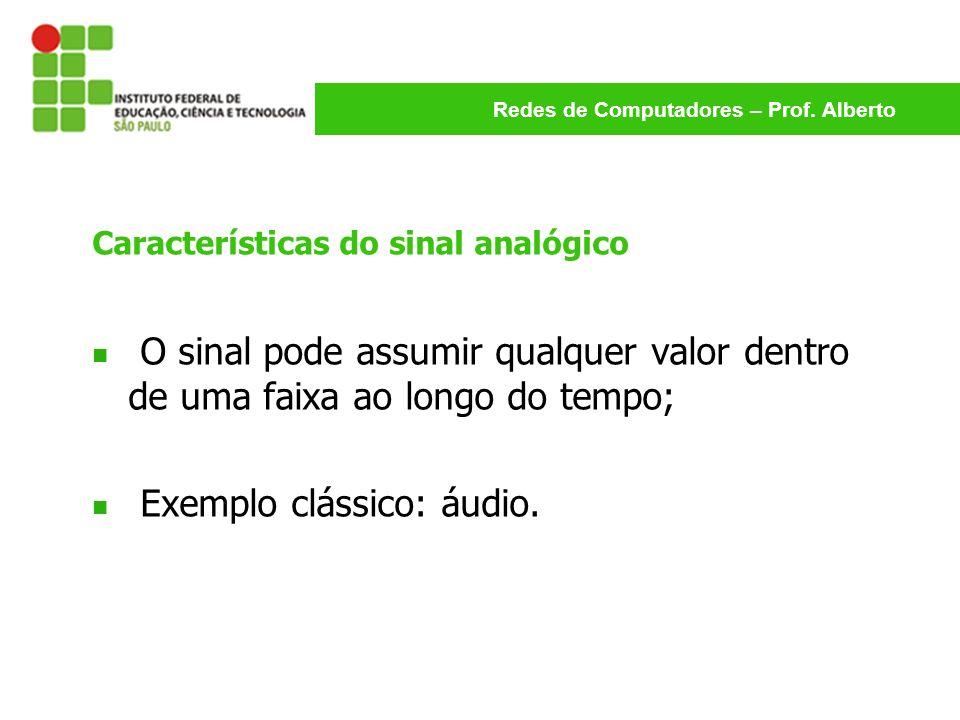 Características do sinal analógico