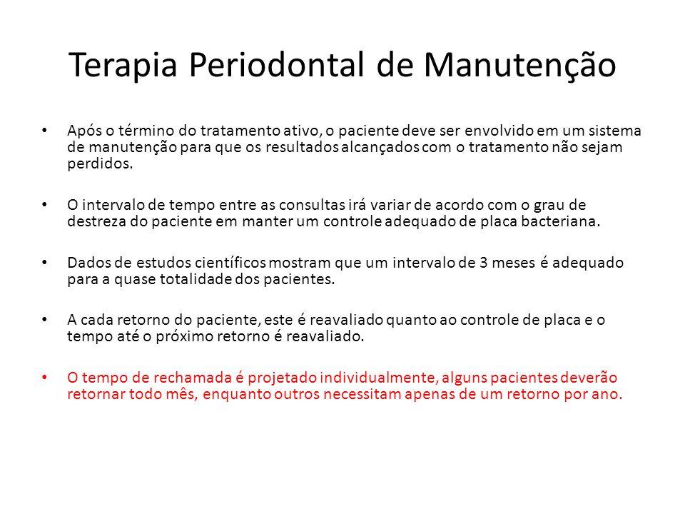 Terapia Periodontal de Manutenção