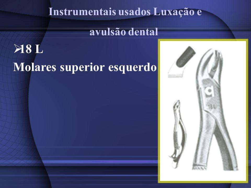 Instrumentais usados Luxação e