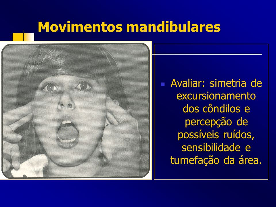 Movimentos mandibulares