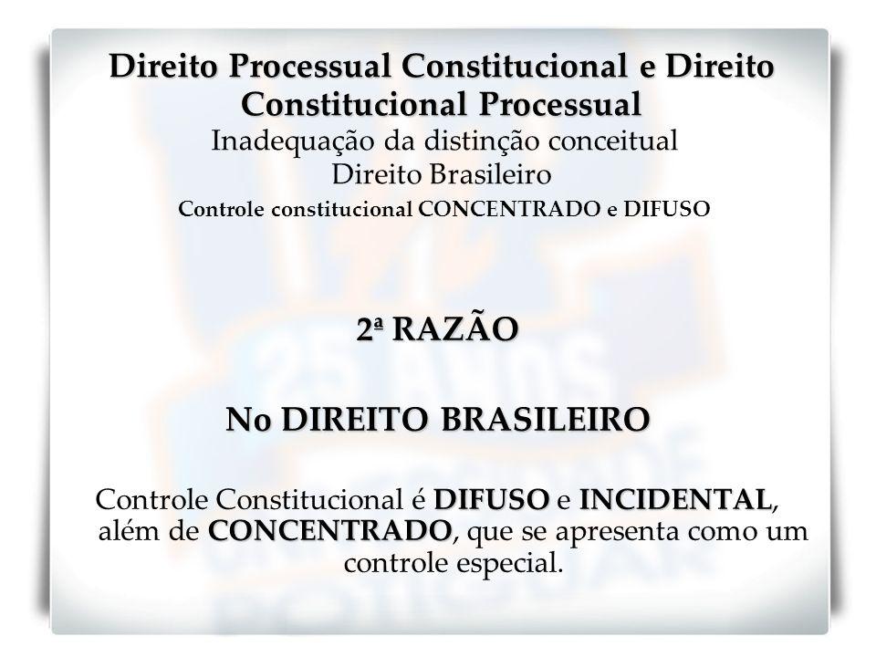 2ª RAZÃO No DIREITO BRASILEIRO