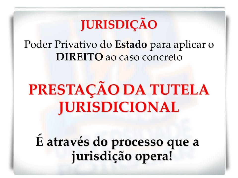 PRESTAÇÃO DA TUTELA JURISDICIONAL