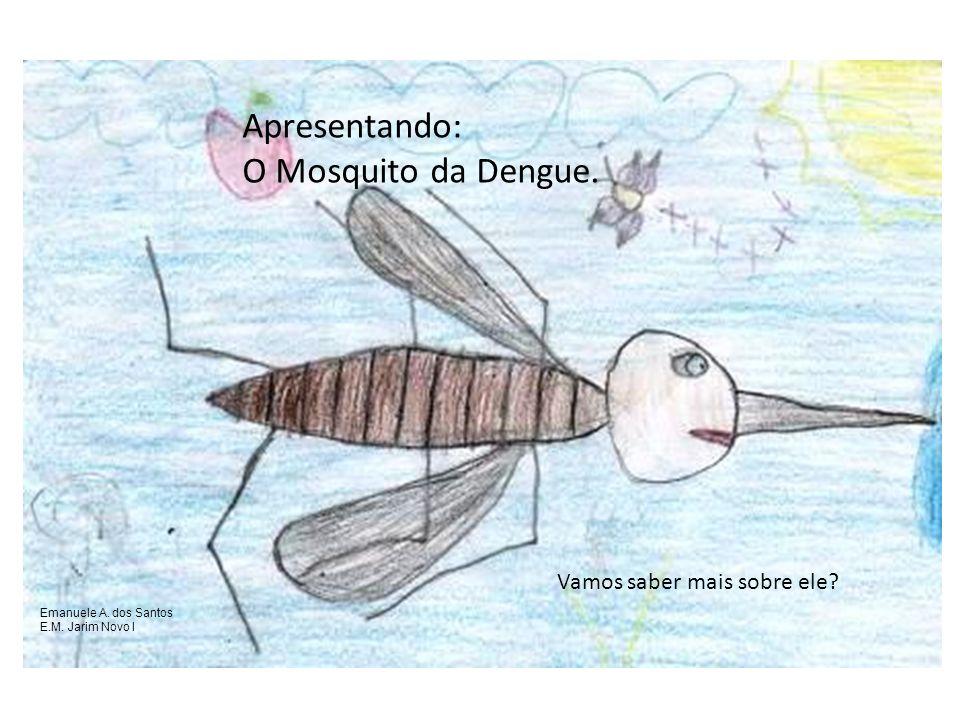 Apresentando: O Mosquito da Dengue. Vamos saber mais sobre ele