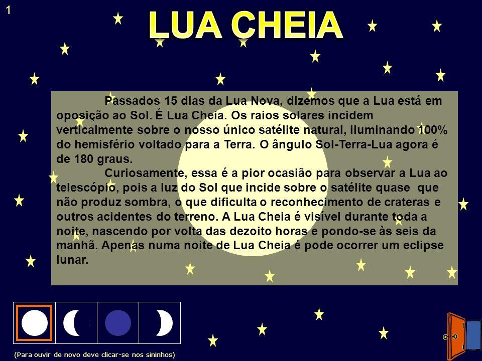 1 LUA CHEIA.
