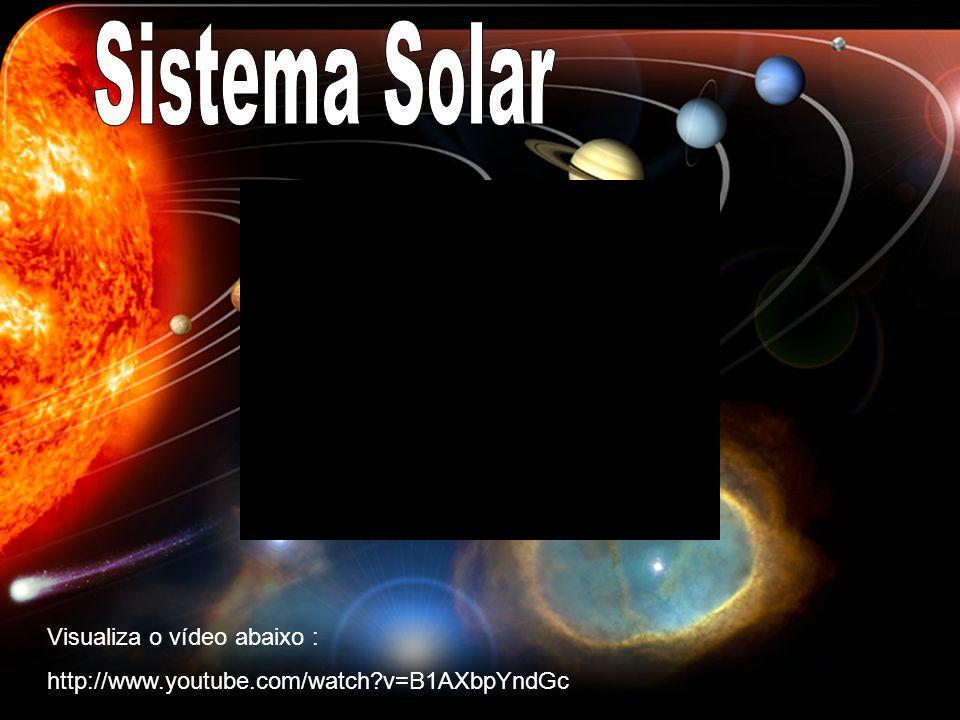 Sistema Solar Visualiza o vídeo abaixo :
