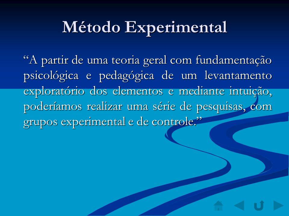 Método Experimental