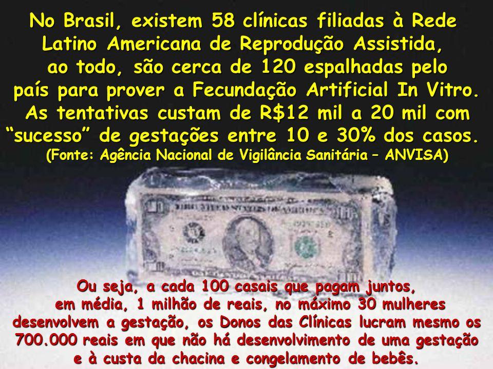 No Brasil, existem 58 clínicas filiadas à Rede