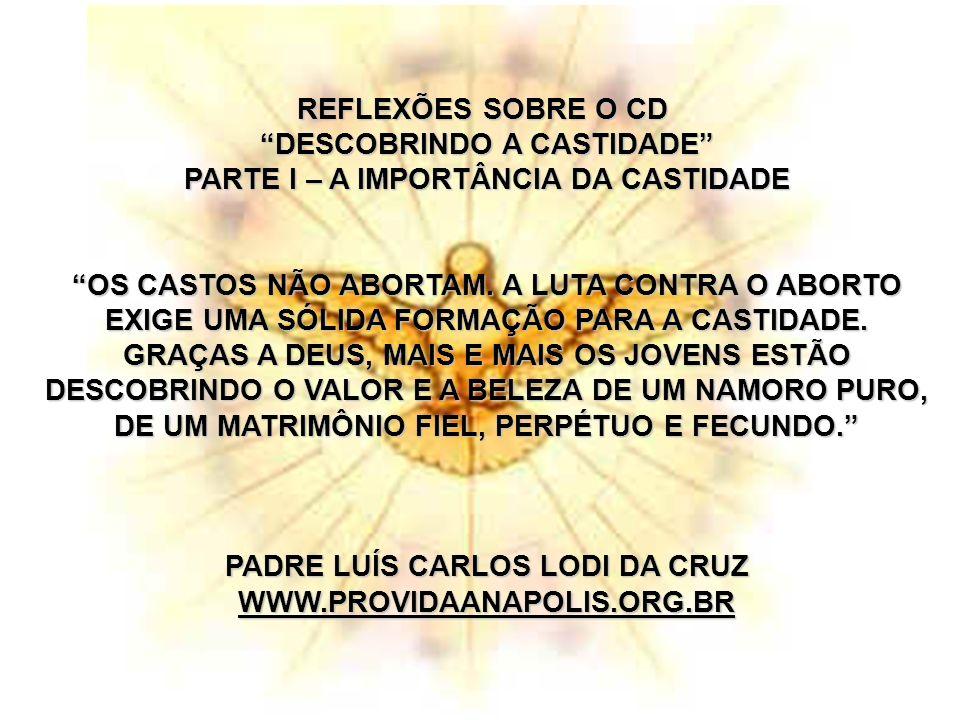 DESCOBRINDO A CASTIDADE PARTE I – A IMPORTÂNCIA DA CASTIDADE