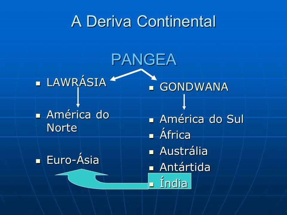 A Deriva Continental PANGEA