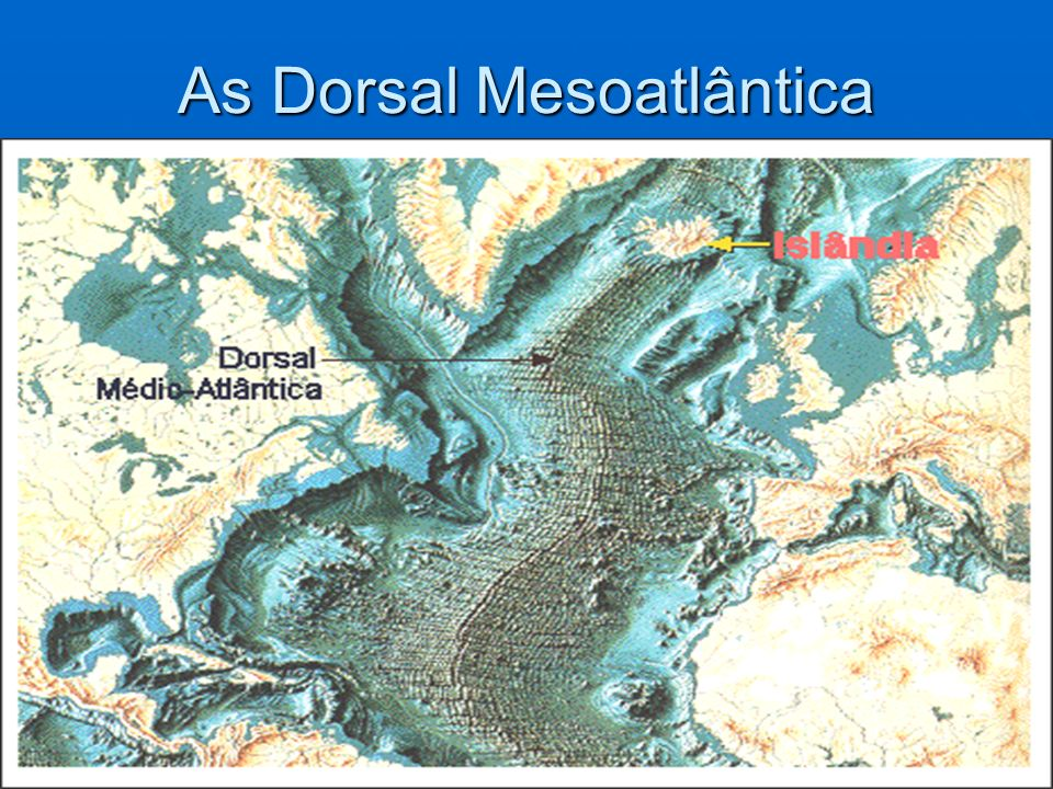 As Dorsal Mesoatlântica