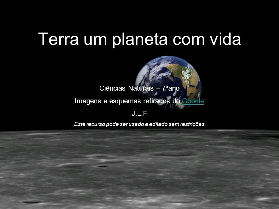Terra um planeta com vida